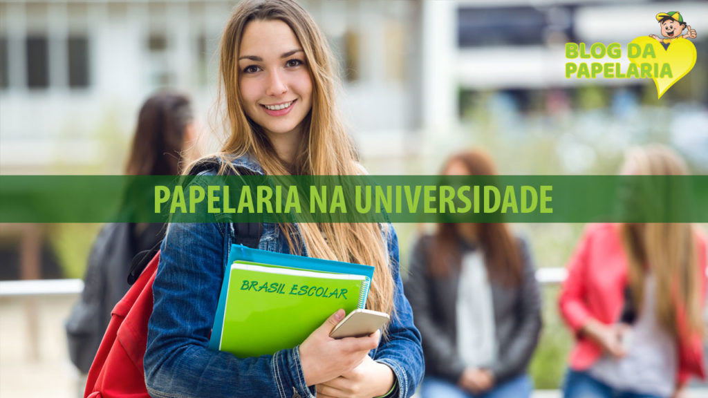 A papelaria na universidade – o estudo nunca para